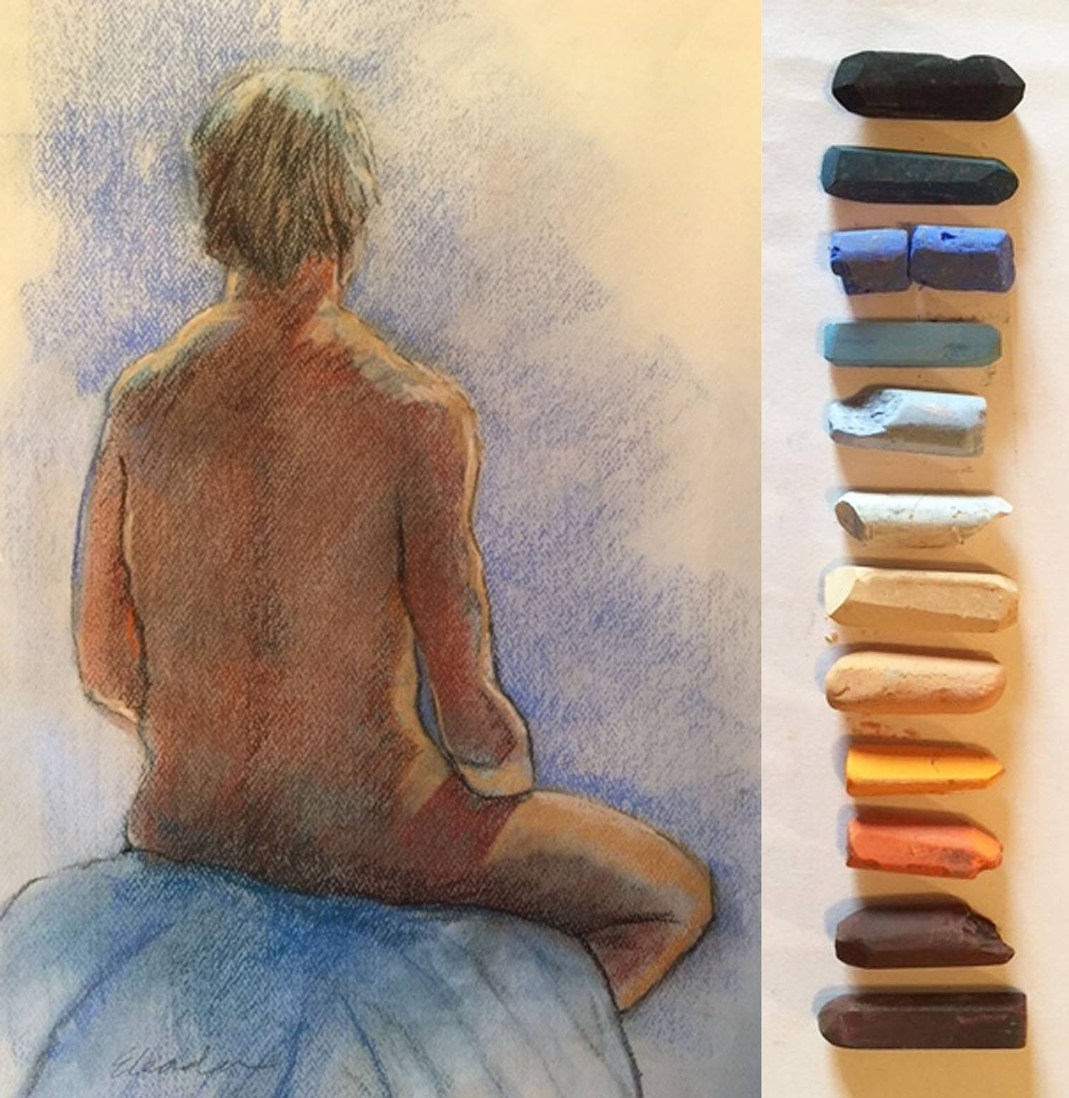 LIFE DRAWING – AN EXERCISE IN CALM FOCUS