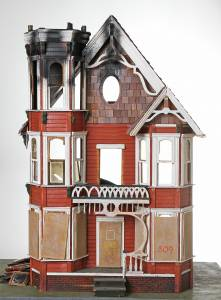 The Fire at the Doll House - Front View